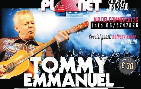 Advertising Graphics Tommy Emmanuel