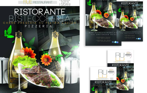 Flyer – RUE Restaurant